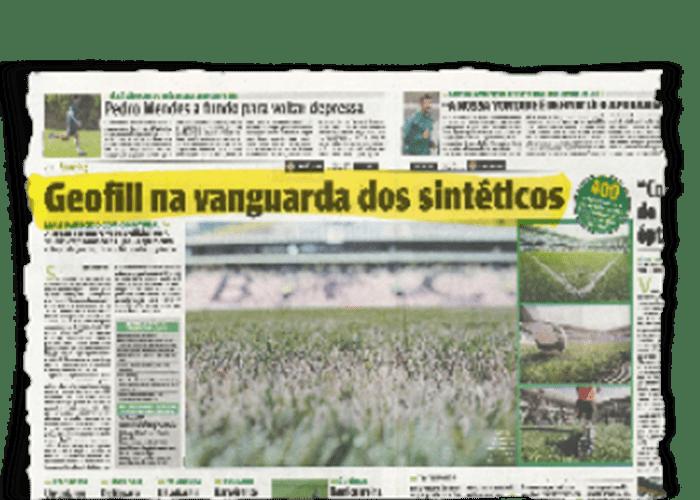 """GEOFILL vanguardia del sintético"" – O JOGO – 2/11/2010"
